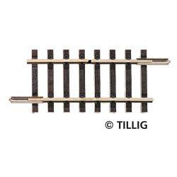 Tillig 83155 Megszakítósín 41,5 mm, egyoldalt átvágott