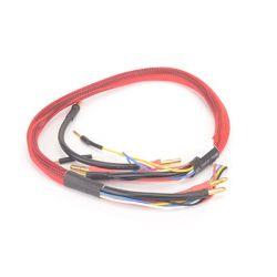 Töltőkábel 2 x 2S - Piros