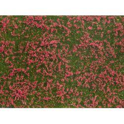 Noch 07257 Téphető fűlap, vörösvirágos rét, 12 x 18 cm