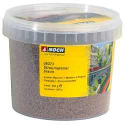 Noch 08373 Szóróanyag lombozathoz, bokorhoz, barna, 200 g