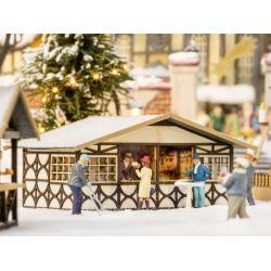 NOCH 14482 karácsonyi vásáros bodé