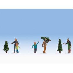 NOCH 15927 Karácsonyfavásár