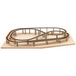 Noch 53605 Easy-Track, Andreastal terepasztal nyomvonal fa alátét