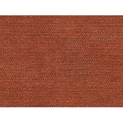Noch 56610 3D-s dekorlap, klinkertégla fal, vörös, 250 x 125 x 0,5 mm