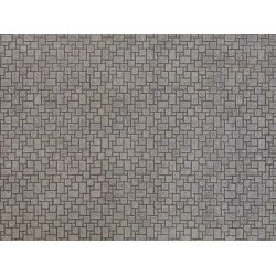 Noch 56722 3D-s dekorlap, modern járókő, 250 x 125 x 0,5 mm