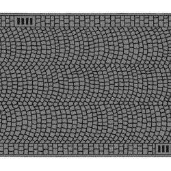 Noch 60722 Macskaköves út fólia, 100 x 6,6 cm