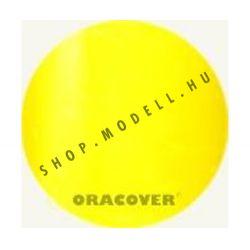 Oracover átlátszó sárga light