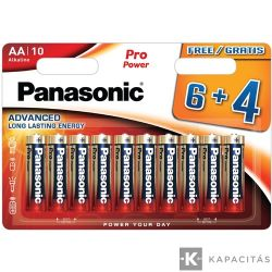 Panasonic AA elem - 10 db