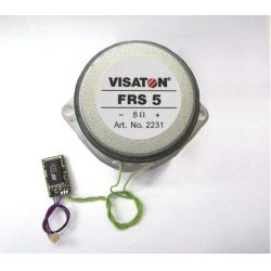 Piko 36199 Hangmodul hangszóróval VT 11.5 motorvonat G kerti vasút (hangminta)