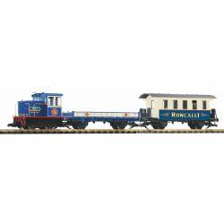 PIKO 37154 Kezdőkészlet, Roncalli cirkuszi vonat, akkumulátoros, RC