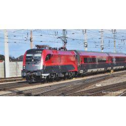 PIKO 37400 Villanymozdony Rh 1116 Railjet, ÖBB VI, hangdekóderrel