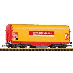 Piko 37720 Síntisztító ponyváskocsi Shimmns, Bahnbau gruppe, DB AG V