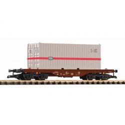 PIKO 37747 konténerszállító mit 20 ft. Container DB IV