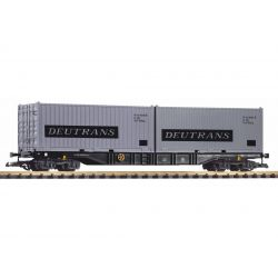 PIKO 37752 konténerszállító mit 2 Containern Deutrans DR IV