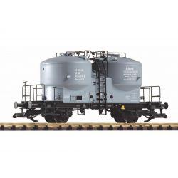 PIKO 37795 Zementsilóskocsi DR IV mit schwarzem Rahmen
