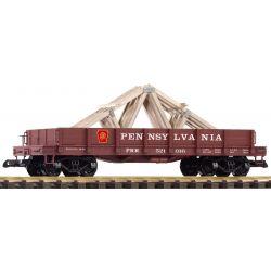 PIKO 38754 G-Niederbordwagen PRR mit Ladung