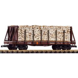 PIKO 38755 G-Rungenwagen PRR mit Ladung