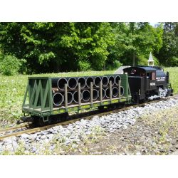 PIKO 38756 G-Rungenwagen RDG mit Ladung