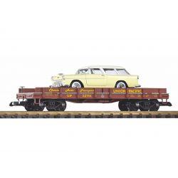 PIKO 38769 Autószállító + fémautó Auto (Chevy Nomad)