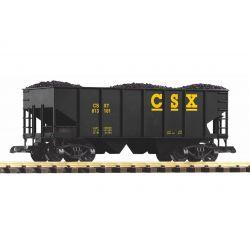 PIKO 38900 zuzalékszállító kocsi CSX szén rakománnyal