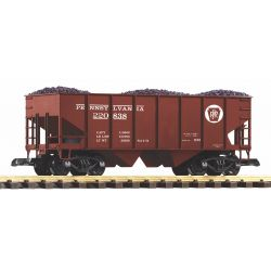 PIKO 38916 G-Schüttgutwagen PRR  mit Kohleladung