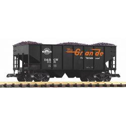 PIKO 38917 G-Schüttgutwagen D&RGW mit Kohleladung