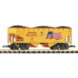 PIKO 38919 Zúzalékszállító kocsi szénrakománnyal, Union Pacific