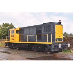 Piko 40422 N-Dízel mozdony 2400 grau-gelb, Rundumleuchte IV + DSS Next18