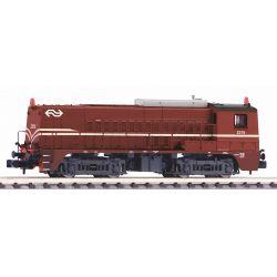 PIKO 40445 N-dízelmozdony 2275 rotbraun NS IV + DSS Next18