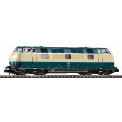 PIKO 40505 N-dízelmozdony/Sound BR 221 Beigeblau DB IV + Next 18 Dec.