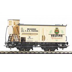 PIKO 54614 Sörszállító kocsi fékházzal, Veltins, DB III