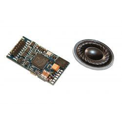 Piko 56379 Hangdekóder hangszóróval Rh1110.5 villanymozdonyhoz (+hangminta)