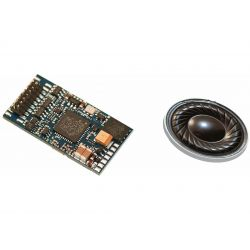 Piko 56380 Hangdekóder hangszóróval G6 dízelmozdonyhoz (hangminta)
