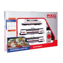 Piko 57133 Startszett BR 146 TRAXX villanymozdony emeletes személykocsikkal, IC-festéssel, DB AG VI