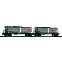 PIKO 58228 Tartálykocsi fékhíddal készlet, OEVA, ÖBB V