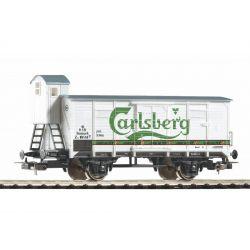 PIKO 58934 Sörszállító zárt teherkocsi fékházzal G02, Tuborg Carlsberg, DSB III