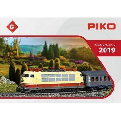 PIKO 99709D Katalógus 2019, G kerti vasút, német nyelvű