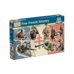 6189 Italeri WWII - Free French Infantry 1:72