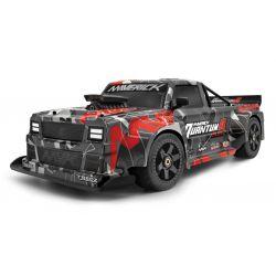 MV150313 QuantumR Flux 4S 1/8 4WD Race Truck - Grey/Red