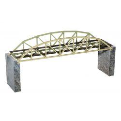 Noch 67030 Lézervágott rácsszerkezetes vasúti híd