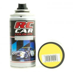 RC autó karosszéria festék, sárga spray