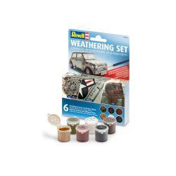 Revell 39066 Weathering Set, antikoló készlet, 6 szín