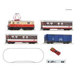 Roco 31033 z21 start digitális kezdőkészlet, Rh 1099 villanymozdony személyvagonokkal, ÖBB V