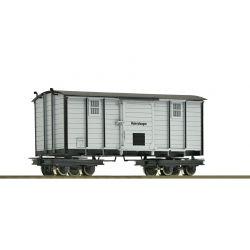 Roco 34065 Zárt teherkocsi 'Materialwagen', Waldbahn III-IV