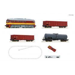 Roco 51332 z21 Start Digitális kezdőkészlet, T679 Szergej tehervagonokkal, CSD IV