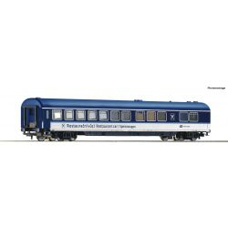 Roco 54171 Gyorsvonati étkezőkocsi Eurocity EC WRmee, CD VI