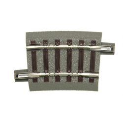 Roco 61129 GeoLine ágyazatos íves sín R2 358 mm 7,5'
