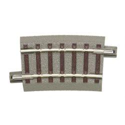 Roco 61130 GeoLine ágyazatos íves sín R3 434,5 mm 7.5'