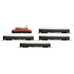 Roco 61469 Vonat szett Rh 1020 Krokodil villanymozdony CIWL hálókocsikkal, ÖBB/CIWL IV, hangdekóderrel