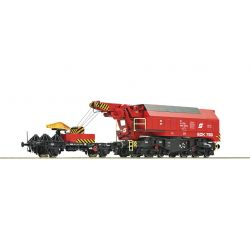 Roco 73036 Digitális vasúti daru EDK 750, ÖBB V, hangdekóderrel